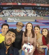Superstar Rajinikanth AT ISL 2