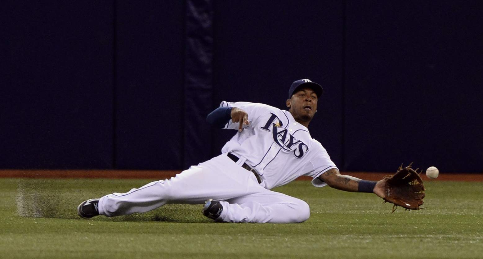 The Tampa Bay Rays will release OF Desmond Jennings on Saturday. (Photo Credit: Unknown)