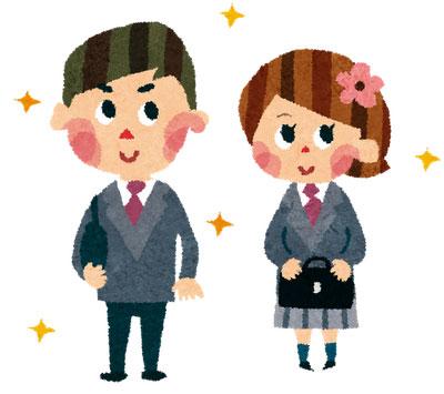 free-illustration-nyugaku-blazer