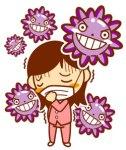 インフルエンザの潜伏期間と症状は?予防と検査の注意点は?