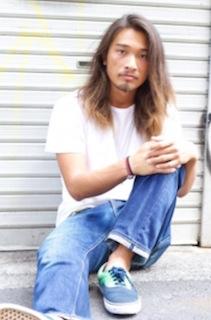 2016年夏の流行のメンズロングの髪型 4