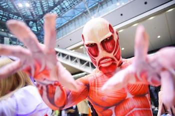 進撃の巨人のおもしろいハロウィンで人気の仮装