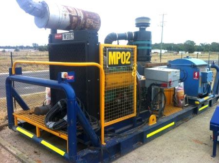 Mud Pump to Australian Standards Model: Triplex W446
