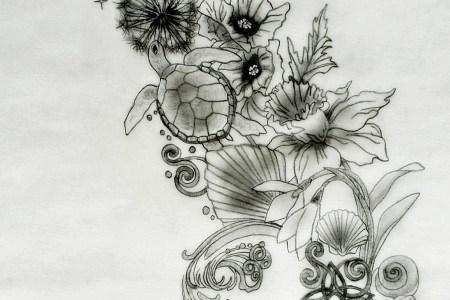 sacred tattoo design back