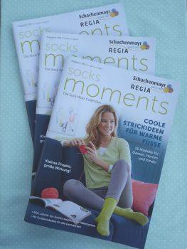 "Das neue Sockenheft von Regia ist da: ""Socks Moments Magazin 001"""