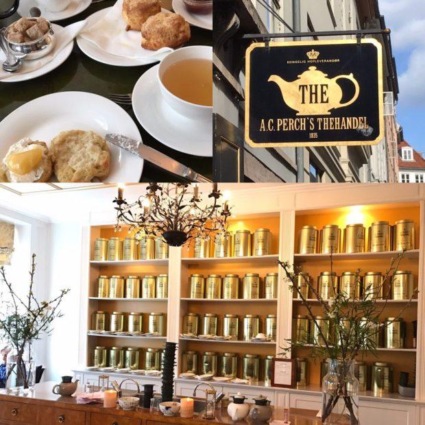 Perchs Thehandel - Shop & Tearoom in der Kronprinsengade