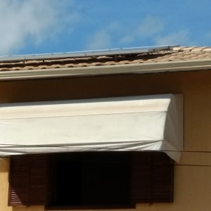Telhado superior (6 módulos)