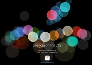 iPhone7(アイフォン7)発表のライブ中継を見るには!YouTubeでも見れます。