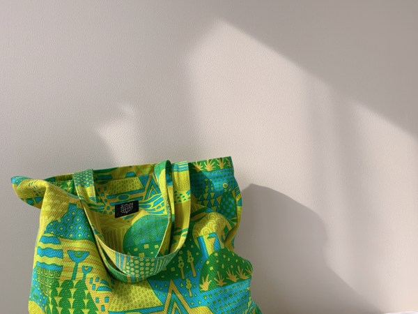 【odekake_BAG_yamanami_green】