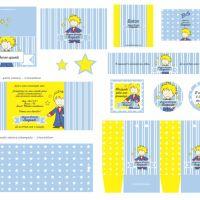 Lançamento: Kit Festa Personalizada Pequeno Príncipe