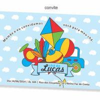Papelaria personalizada: Festa Brinquedos