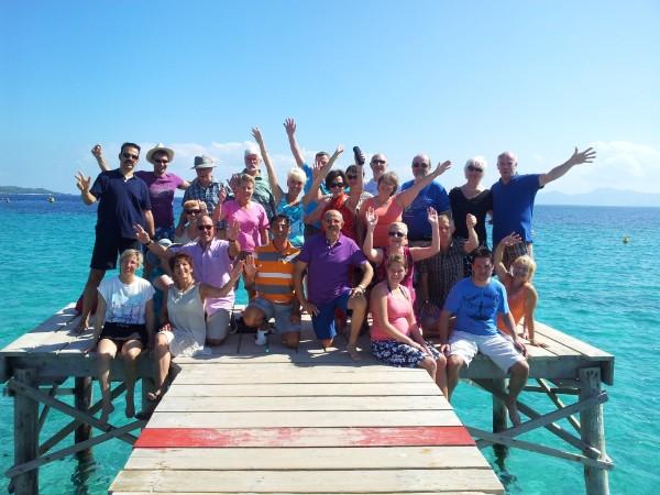 Tanzreise nach Mallorca (Platja de Muro)