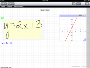 FluidMath 2013 - Bring Your Handwritten Math to Life