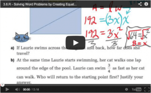 Math Videos - Unit 3 Solving Equations MPM1D