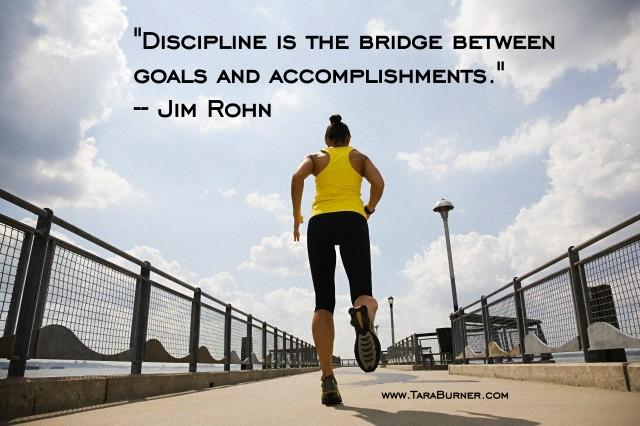 Discipline is… |
