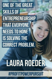 Laura Roeder, founder of Edgar, on Profit. Power. Pursuit. with Tara Gentile