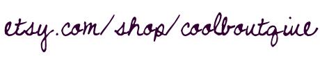 example etsy shop URL