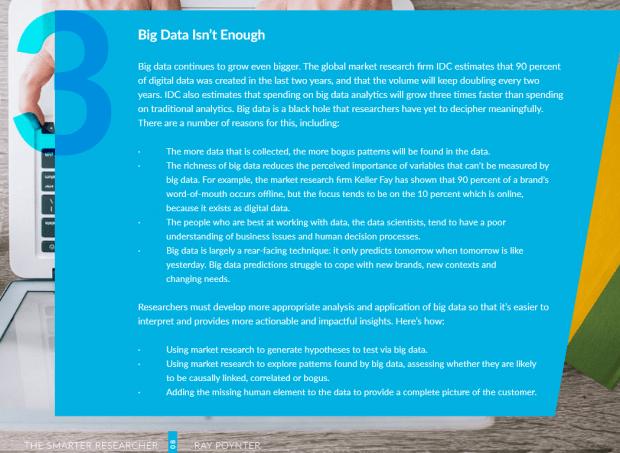 big data isnt enough