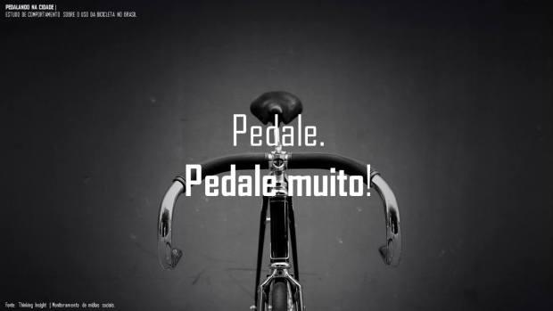 pedalando na cidade