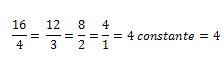 Variación directamente proporcional ejemplo