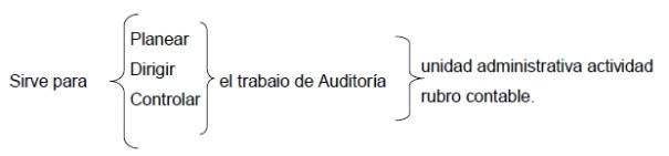 Programa especifico de auditoria