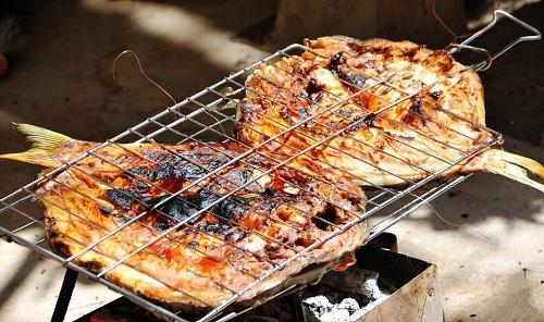 طريقة عمل السمك المسكوف العراقي