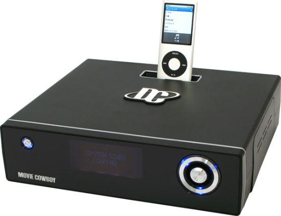 movie cowboy dc mc35uli 11 [dock iPod] Movie CowBoy DC MC35ULI vai além disso. É um box de DivX!