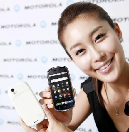 motorola glam korea [smartphone] Motorola Glam, mais Android 2.1 para a Coreia do Sul