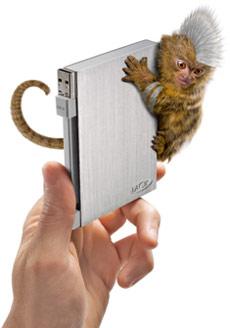 rikikigosilver [periféricos] LaCie Rikiki Go, o pequeno HD portátil se veste de prata e expande a sua memória