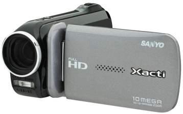 100909 xacti 01 [filmadora digital] Sanyo Xacti VPC GH4: gravação Full HD e redes sociais em um mesmo produto