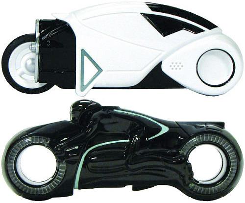 tron usb Pendrive inspirado em moto do filme TRON: Legacy. Para você entrar no clima