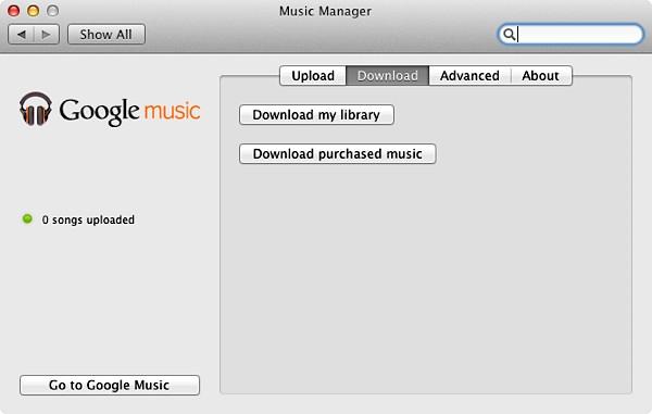 googlemusicdownload01 1327649081 Google Music já permite o download de toda a sua biblioteca musical, com apenas um clique