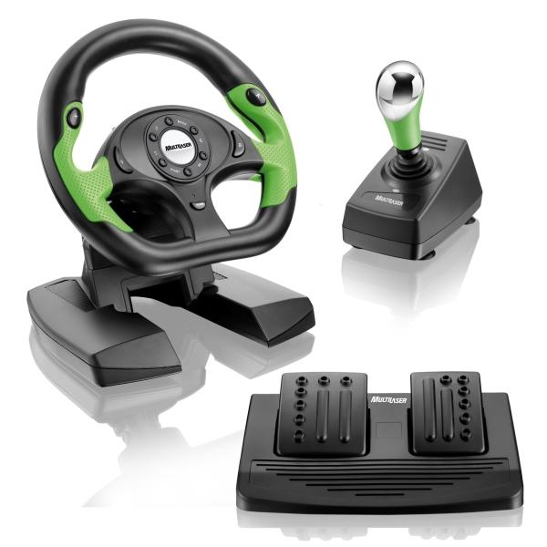 js066 todos pos 4 alta Novo volante GT X para Xbox 360 e PC da Multilaser