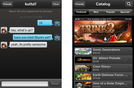 steam126 Steam já tem o seu aplicativo beta disponivel para iOS e Android