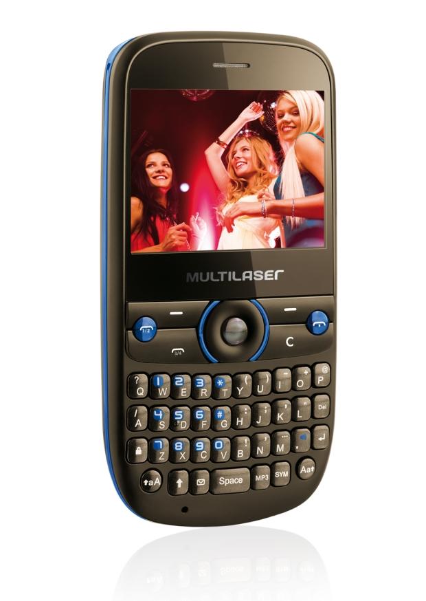multilaser 01 Celular Multilaser Star Dual TV aceita até quatro chips SIM, e pode sintonizar TVs analógica e digital