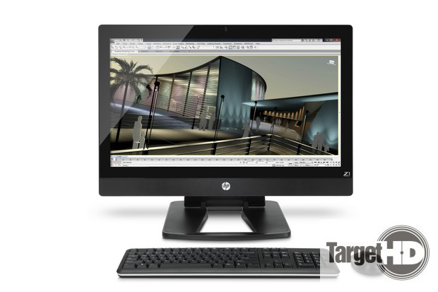 HP Z1 Workstation with Autodesk 3DsMAXD Screen Workstation HP Z1, desktop All in One dedicado aos profissionais, chega ao Brasil #BigBangHP
