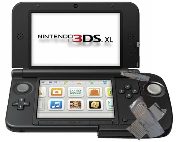 3ds xl circle pad pro Nintendo 3DS XL também vai ter o seu próprio Circle Pad Pro