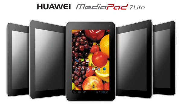 7lite Tablet Huawei MediaPad 7 Lite é apresentado oficialmente #IFA 2012