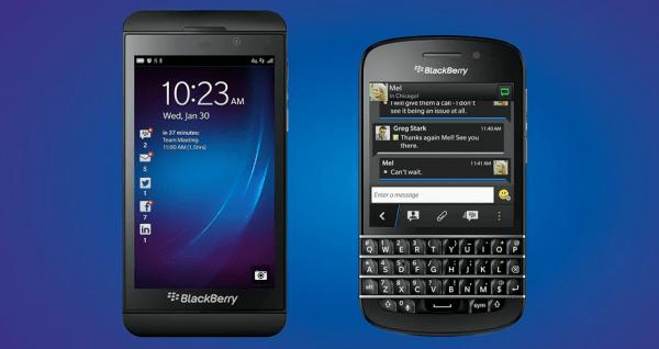 blackberry smartphones 600x318 BlackBerry Z10 e Q10, com BlackBerry 10, são anunciados oficialmente... pela BlackBerry
