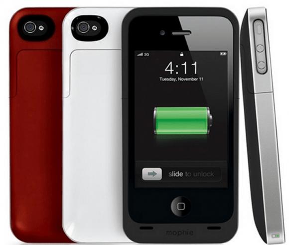 juice pack air 580x493 Mophie Juice Pack Air, um case que oferece 1.700 mAh extras para a bateria do seu iPhone 5