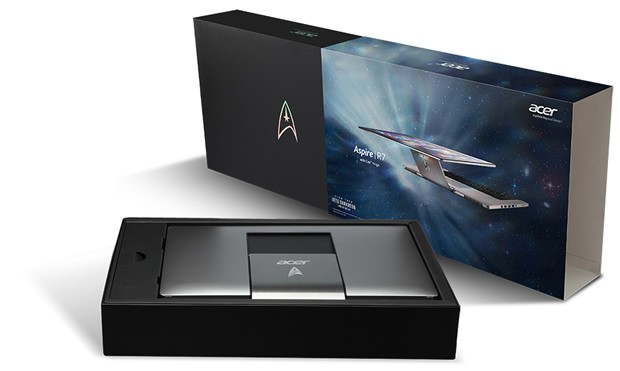 16 dsc2850 01 Acer Aspire R7 Star Trek Edition, para os amantes do gênero