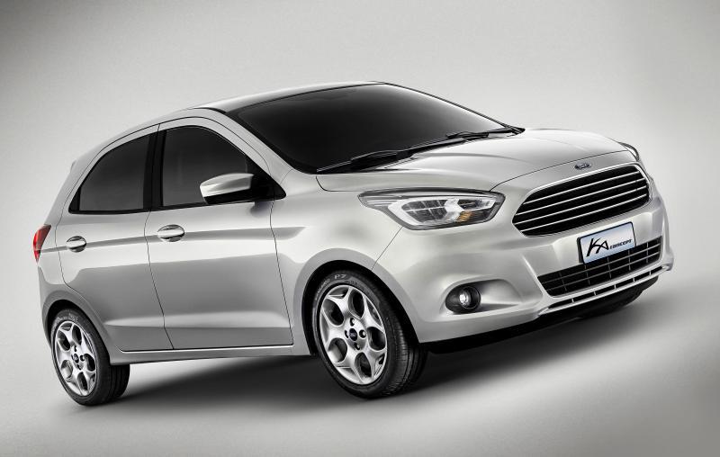 1 Ka Concept [Especial] Ford apresentou o Ka Concept na Bahia. Um novo conceito de carro urbano para 2014