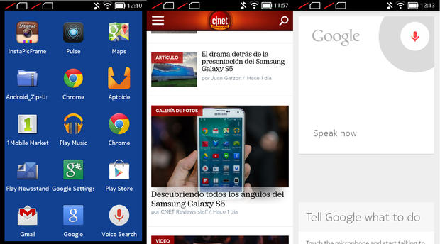 Nokia X Chrome Google Apps É possível instalar os aplicativos padrão do Android no Nokia X. Porém...