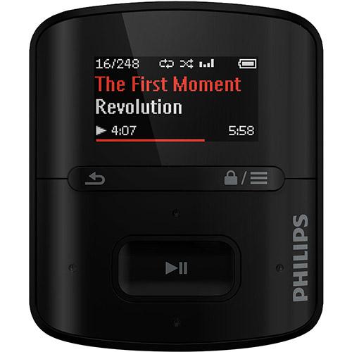 114272418 2GG Dicas de Compras | MP3 Player Philips 4 GB com tecnologia FullSound, por R$ 90 (22 03 2014)