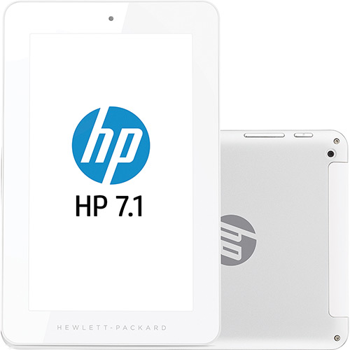 Tablet hp 7 Polegadas o Tablet hp 7.1 1201 Com