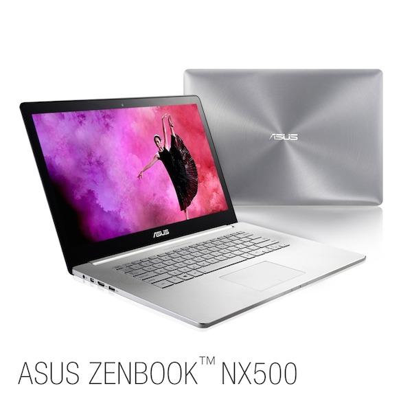 ASUS+ZENBOOK+NX500 PR01 ASUS Zenbook NX500, um notebook fino, leve e com tela 4K