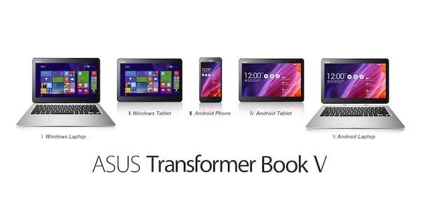 asus transformer book v pr02 1 ASUS Transformer Book V: um 5 em 1 com Windows 8.1 e Android