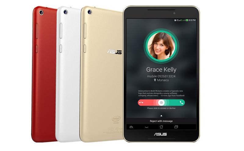 fonepad Asus FonePad 7 e 8: os tablets com aspiração de smartphone estão ainda maiores