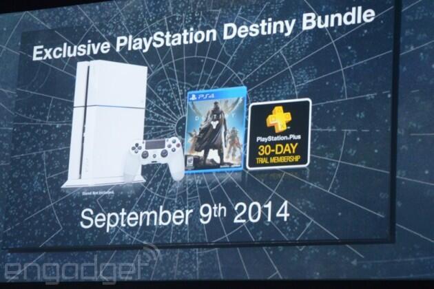 E3 2014 | PS4 de cor branca com o pack Destiny será lançado em 9 de setembro