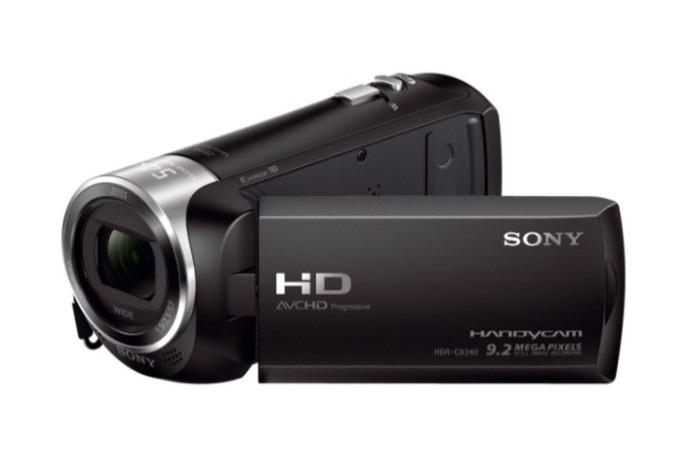 Sony HDR CX240 01 Sony lança filmadora HDR CX240 no Brasil